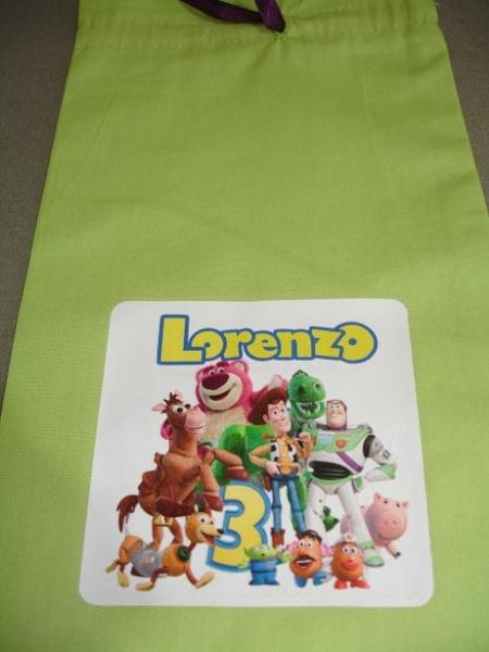 Usando tranfer em tecidos (personalização de sacolas de lembrancinha) Dsc04120