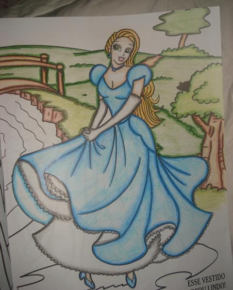 CRIARTE  -  Colorindo com Lapis Aquarela - ETAPA I - Página 11 Dsc06910