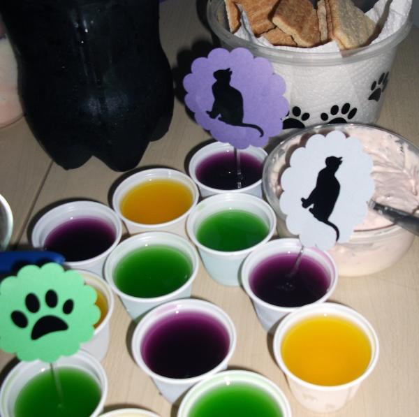 Festa do Gato Preto - Decorada com a Silhouette Gato_p12